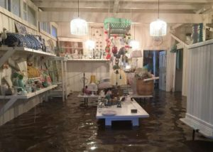 flood inside the house